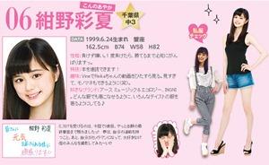 紺野彩夏(こんのあやか)・ミスセブンティーン2014最終候補