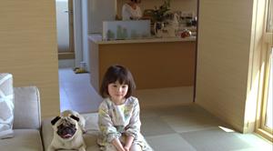 太田しずく(おおたしずく)ミサワホーム「子供と犬」篇1