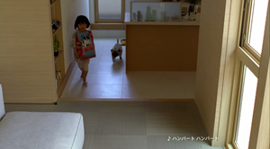 太田しずく(おおたしずく)ミサワホーム「子供と犬」篇2